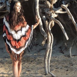 Other - Crochet beach cover up poncho
